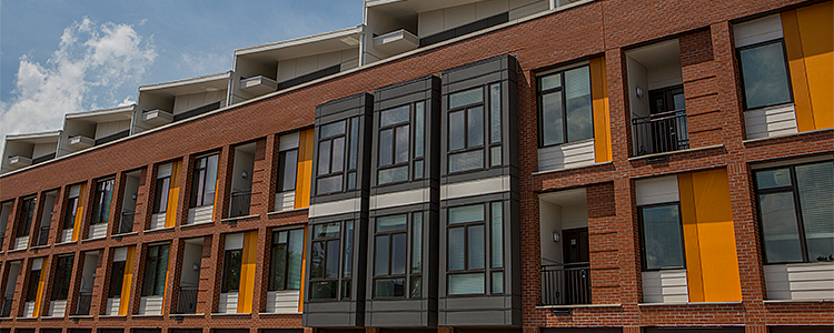 Project feature lockerbie lofts multi family housing for Multi family living