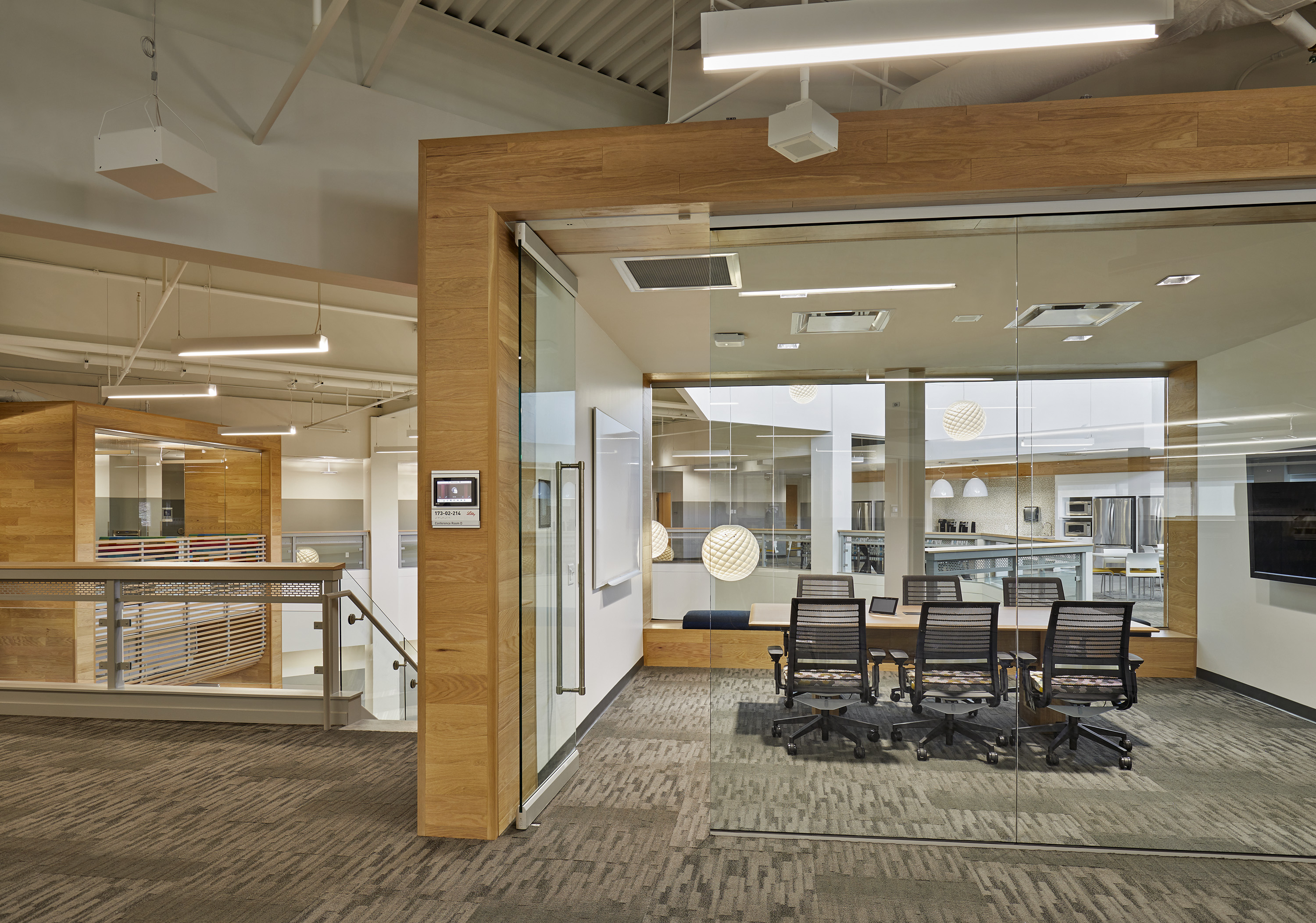 Creating an Integrated Workplace for This Indianapolis Client 2