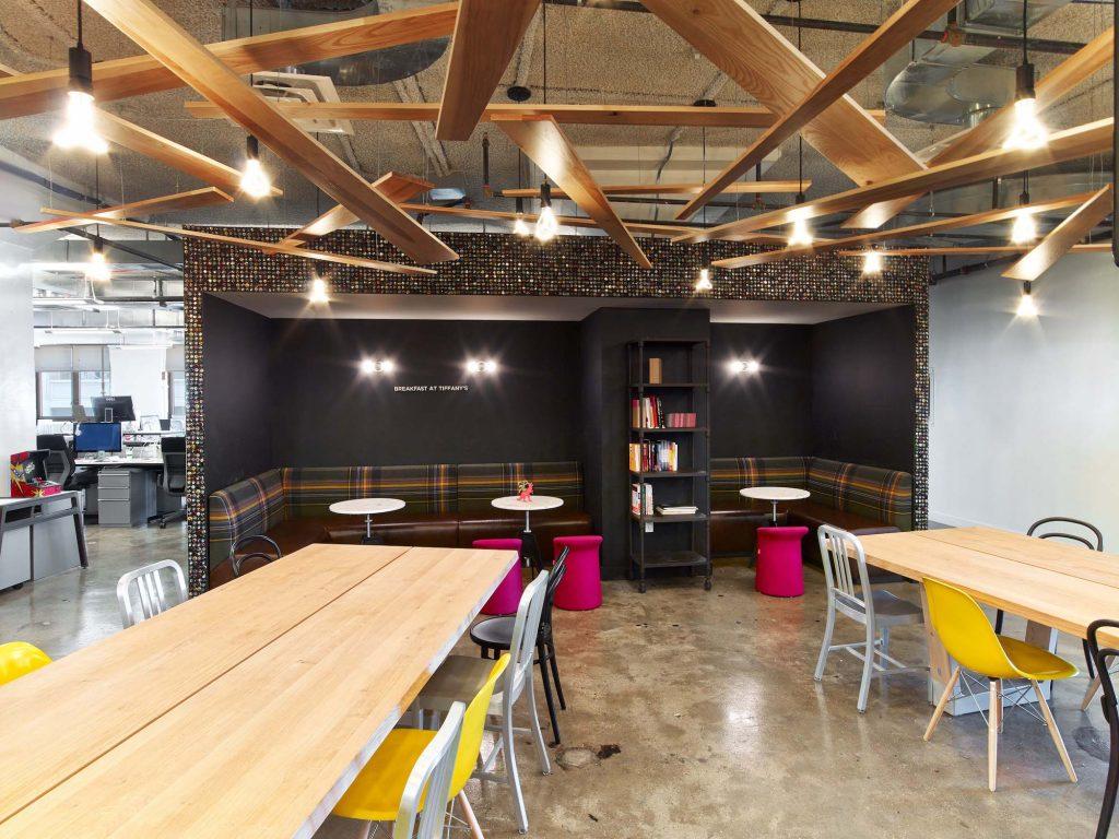Accenture Interactive - Designing Work Cafe