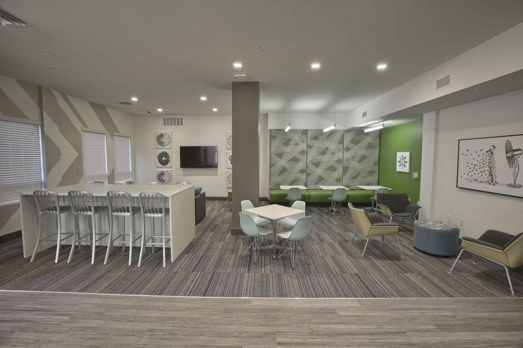 Lockerbie Lofts - Designing Work Cafe