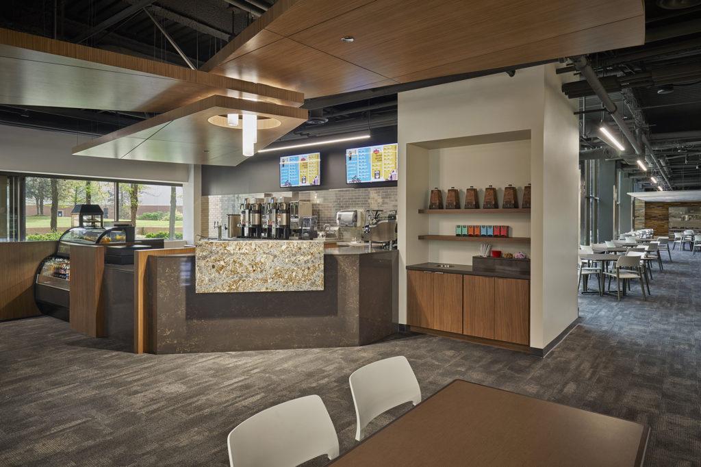corporate cafeteria renovation - 1
